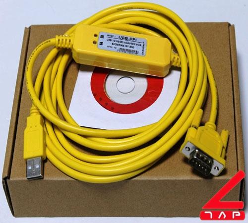 Cáp lập trình USB-PPI cho S7 200