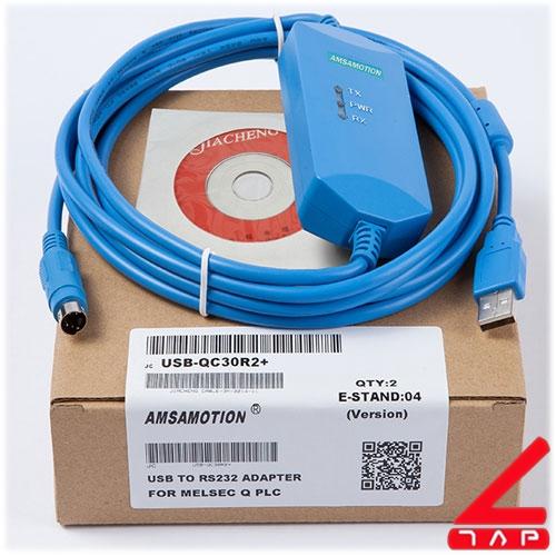Cáp lập trình USB-QC30R2+ cho PLC Melsec Q
