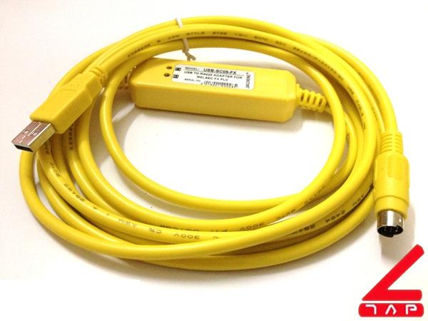 Cáp lập trình USB-SC09-FX cho PLC Mitsubishi FX