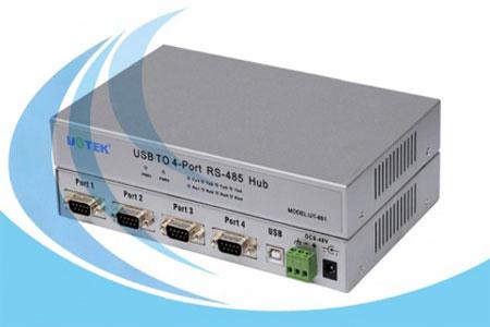 Bộ chuyển đổi UTEK UT-861 USB ra 4 cổng RS-485/422